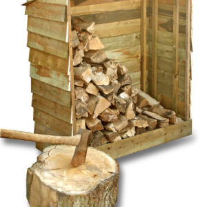 Treated Timber Log Store